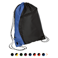 Customizable Port & Company Colorblock Cinch Pack