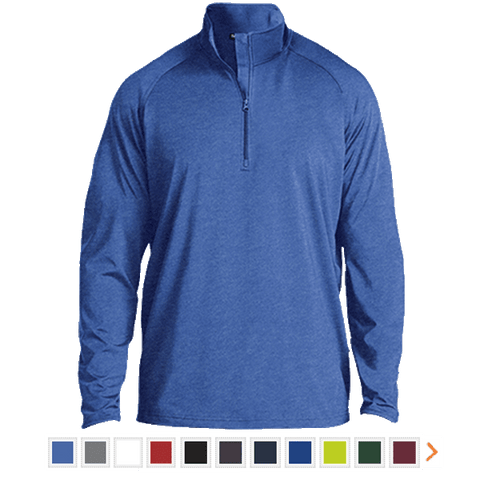 Customizable Sport-Tek 1/2 Zip Raglan Performance Pullover