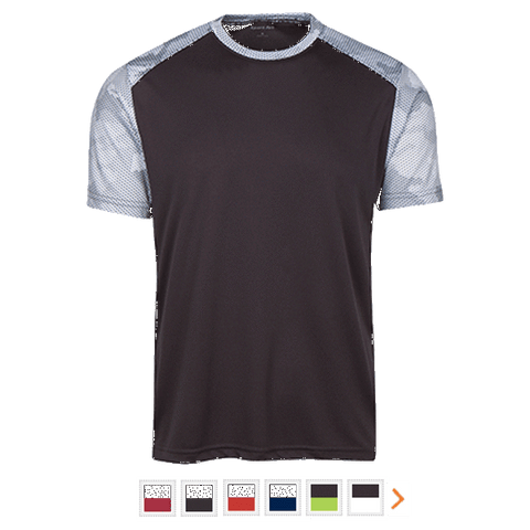 Customizable Sport-Tek CamoHex Colorblock T-Shirt