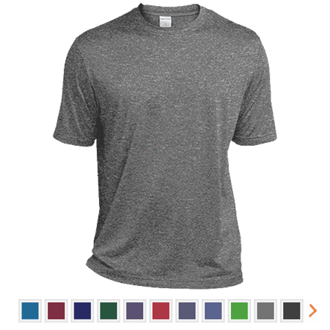 Customizable Sport-Tek Heather Dri-Fit Moisture-Wicking T-Shirt