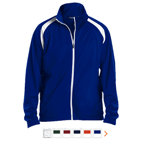 Customizable Sport-Tek Men's Raglan Sleeve Warmup Jacket