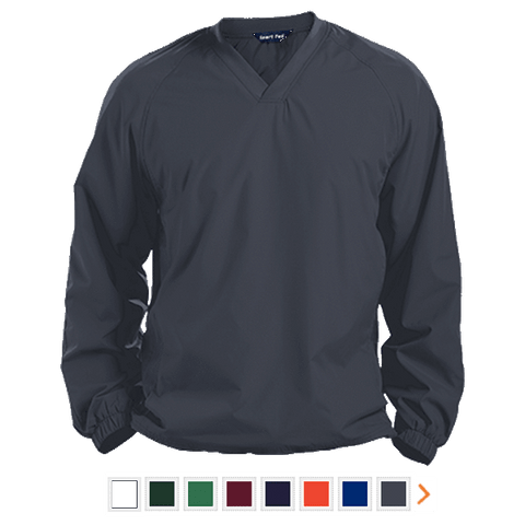 Customizable Sport-Tek Pullover V-Neck Windshirt