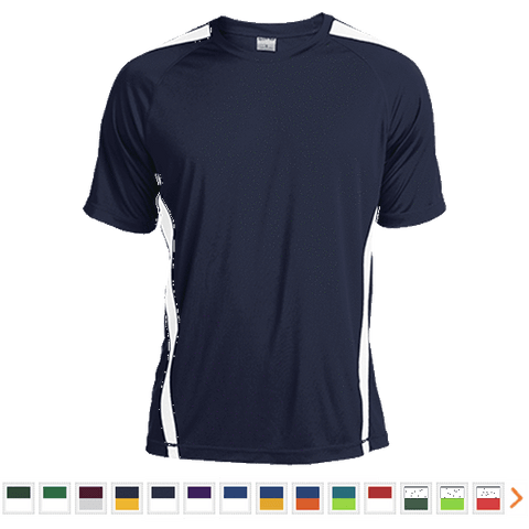 Customizable Sport-Tek Tall Colorblock Competitor T-Shirt