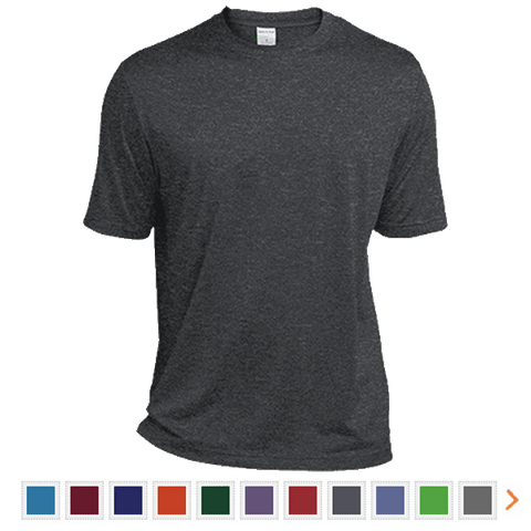 Customizable Sport-Tek Tall Heather Dri-Fit Moisture-Wicking T-Shirt