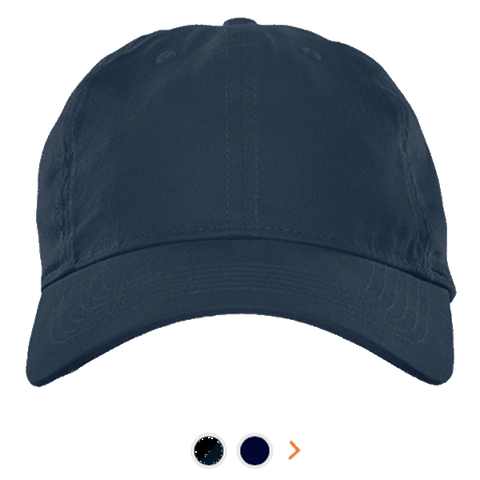 Customizable Twill Unstructured Dad Cap - Velcro