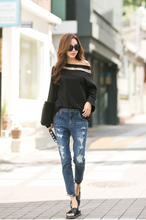 Korean Boat Neck Stylish Tee