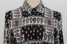 Korean Motif Sassy Blouse Black