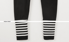 Casual Stripes Comfy Leggings