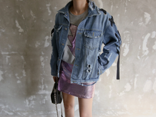 Cross Bow Denim Jacket