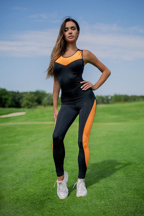 Sexy Black with Orange