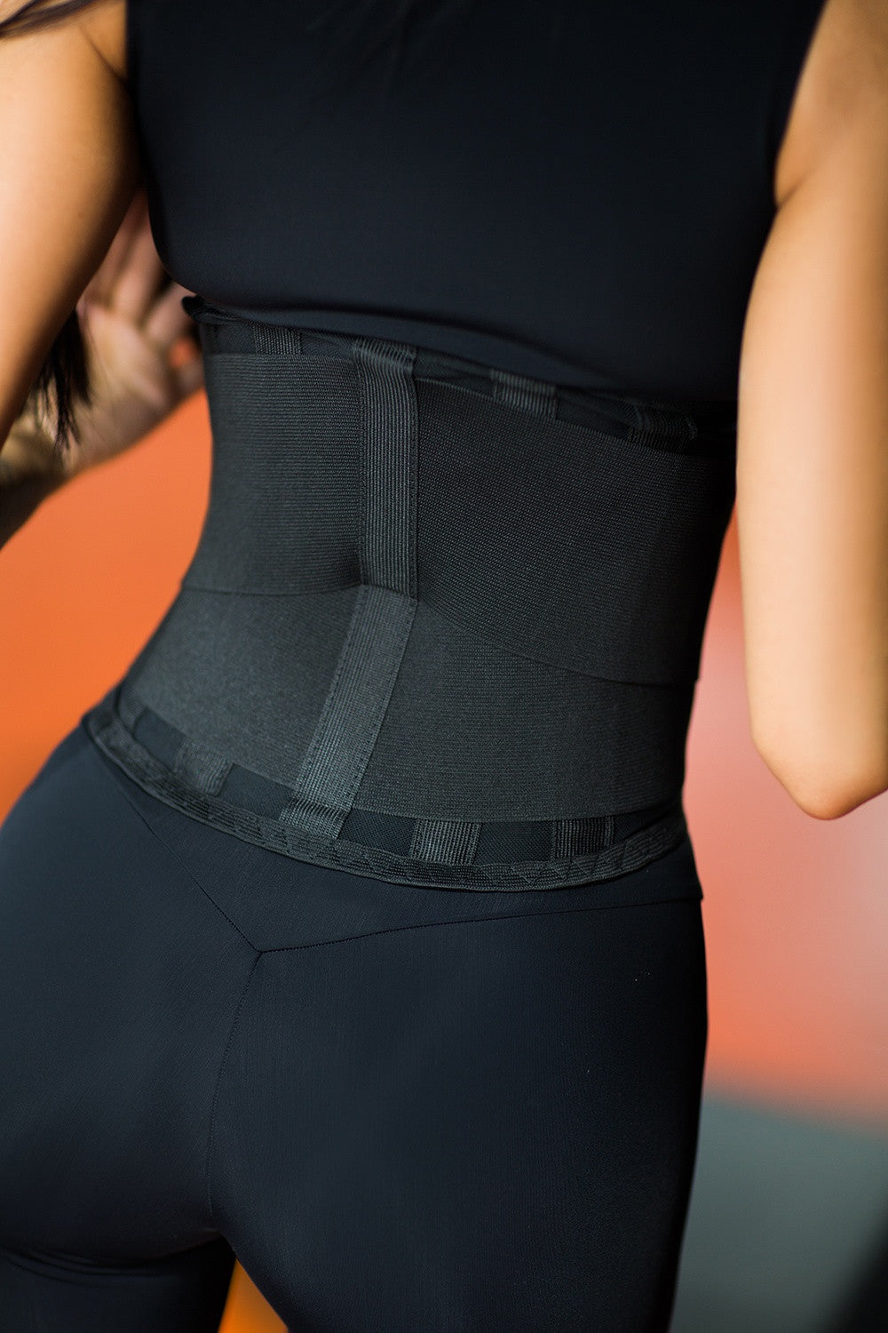 Corsetry Fitness-Belt Black