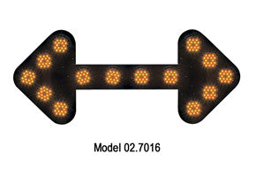 SHO-ME Large LED Arrow Boards 02-7016