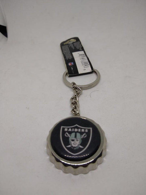 Las Vegas Raiders Bottle Cap Key Chain