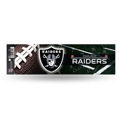 Las Vegas Raiders Official Nfl 11' X 3' Bumper Sticker