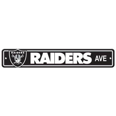 Las Vegas Raiders NFL Street Sign 4