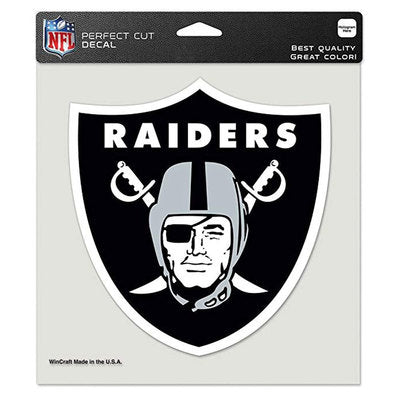 Las Vegas Raiders NFL Perfect Cut Color Decal
