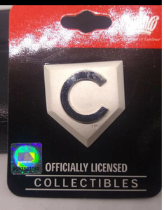 MLB Chicago Cubs home plate Pin