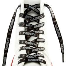Las Vegas Raiders Official NFL Shoe Laces