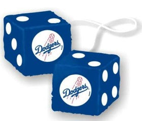 LOS ANGELES DODGERS FUZZY DICE