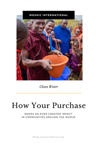 How Your Purchase Provides Clean Water