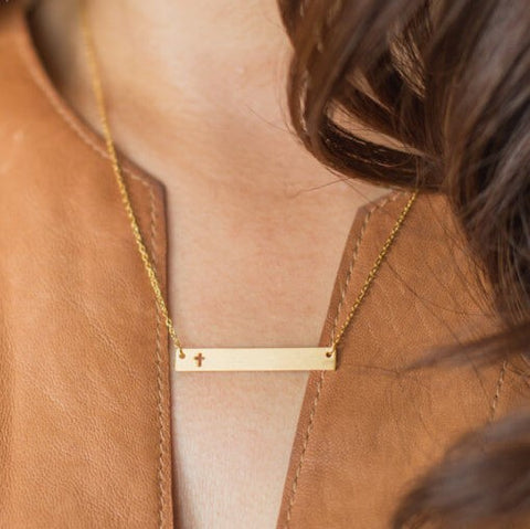 the Layla Gold Necklace