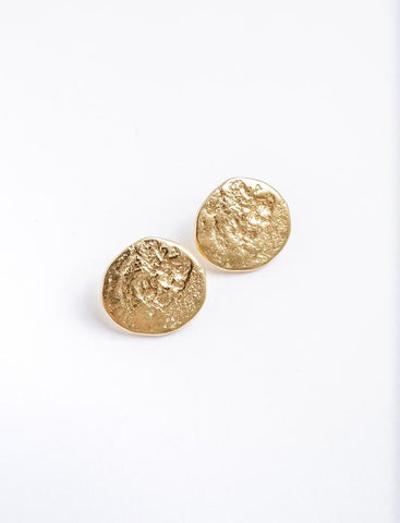 Hammered Coin Statement Stud