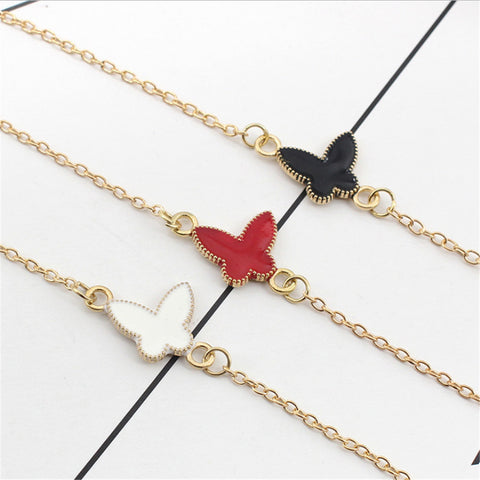 2017 influx of people must have Korean bracelet butterfly bracelet-Devices Depot-White-KoolWish.com