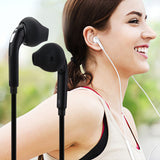 3.5mm Wired Earphone Stereo Headphones Portable Sport Running Headset with Mic Volume Control Universal for iPhone Samsung S6-Earphones-Devices Depot-KoolWish.com