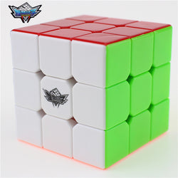 3x3x3 Cyclone Boys Magic Cube Puzzle Cubes Speed Cubo Square Puzzle No Sticker Rainbow Gifts Educational Toys for Children-Devices Depot-KoolWish.com