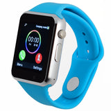 bluetooth smart watch for android phone support SIM/TF reloj inteligente sport wristwatch Support camera, SIM card PK DZ09 GT08-Devices Depot-White-NO BOX-KoolWish.com