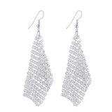 CACANA Long Earrings Dangle Earrings For Women Tassel Bohemia Style Fashion Bijouterie Hot Sale No.A501-Earrings-Devices Depot-silver-KoolWish.com