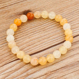 CHICVIE Tiger Eye Love Buddha Bracelets & Bangles Trendy Natural Stone Bracelet For Women Famous Brand Men Jewelry SBR140389-Devices Depot-yellow-KoolWish.com