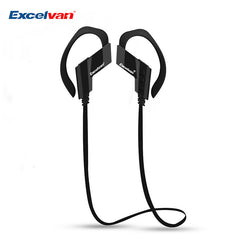 EXCELVAN S501 Wireless Bluetooth Earphones with Mic Stereo Sound Noise Cancellation Sports Headsets With Ear hook Earphone-Earphones-KoolWish.com-China-KoolWish.com