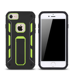 Haissky Armor Case For iPhone 7 7 Plus 6 6S 6 plus 6s Plus Case Cover Soft TPU & Hard PC Hybrid Shockproof Phone Fundas Stands-KoolWish.com-KoolWish.com