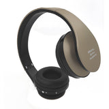 Hisonic Bluetooth Headset Wireless Headphones Stereo Foldable Sport Earphone Microphone headset bluetooth earphone SUN8252-Headphones-Devices Depot-gold-KoolWish.com