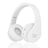 Hisonic Bluetooth Headset Wireless Headphones Stereo Foldable Sport Earphone Microphone headset bluetooth earphone SUN8252-Headphones-Devices Depot-white-KoolWish.com
