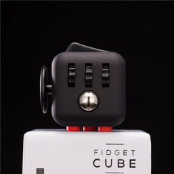 Hot Fidget Cube Toys Squeeze Fun Stress Reliever Fidget Toys Puzzle Magic Cube Toys Stress Cube Come With Box-Devices Depot-KoolWish.com