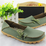 Hot Sale Woman Flat Shoes Breathable Soft Bottom Wild women flats Spring And Autumn female Loafers Chaussure Mujer GT179-Devices Depot-Army Green-4.5-KoolWish.com