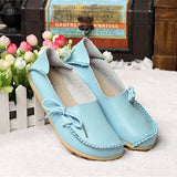 Hot Sale Woman Flat Shoes Breathable Soft Bottom Wild women flats Spring And Autumn female Loafers Chaussure Mujer GT179-Devices Depot-sky blue-4.5-KoolWish.com