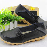 Hot Sale Woman Flat Shoes Breathable Soft Bottom Wild women flats Spring And Autumn female Loafers Chaussure Mujer GT179-Devices Depot-Black-4.5-KoolWish.com