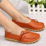 Hot Sale Woman Flat Shoes Breathable Soft Bottom Wild women flats Spring And Autumn female Loafers Chaussure Mujer GT179-Devices Depot-Orange-4.5-KoolWish.com