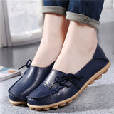 Hot Sale Woman Flat Shoes Breathable Soft Bottom Wild women flats Spring And Autumn female Loafers Chaussure Mujer GT179-Devices Depot-Dark blue-4.5-KoolWish.com