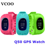 HOT Smart watch Children Kid Wristwatch Q50 GSM GPRS GPS Locator Tracker Anti-Lost Smartwatch Child Guard for iOS Android-Devices Depot-KoolWish.com