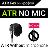 KZ ATES ATE ATR HD9 Copper Driver HiFi Sport Headphones In Ear Earphone For Running With Microphone-Headphones-Devices Depot-ATR NO mic-China-KoolWish.com