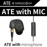 KZ ATES ATE ATR HD9 Copper Driver HiFi Sport Headphones In Ear Earphone For Running With Microphone-Headphones-Devices Depot-ATE with mic-China-KoolWish.com