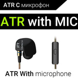 KZ ATES ATE ATR HD9 Copper Driver HiFi Sport Headphones In Ear Earphone For Running With Microphone-Headphones-Devices Depot-ATR with mic-China-KoolWish.com