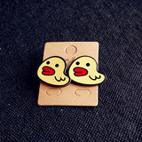Many New Designs Animal Rabbit Monkey Fruit Month Small Acrylic Stud Earrings For Women Night Club Punk Jewelry Accessories-Earrings-Devices Depot-2-KoolWish.com