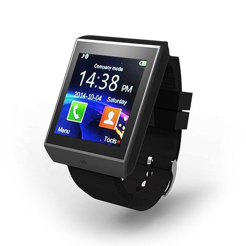 Multilingual Smartwatch-Mini Pebble Electronics-Grey black-KoolWish.com