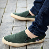 New men casual shoes man spring autumn Loafers England Fashion Zapato Breathable Slip on flats-Devices Depot-Green-7-KoolWish.com