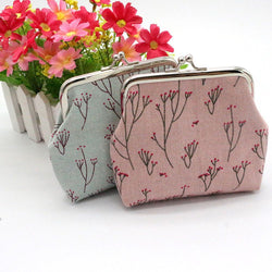 New2017 Women Flower Printing Wallet Card Holder Coin Purse Clutch Handbag Freeshipping-Devices Depot-KoolWish.com